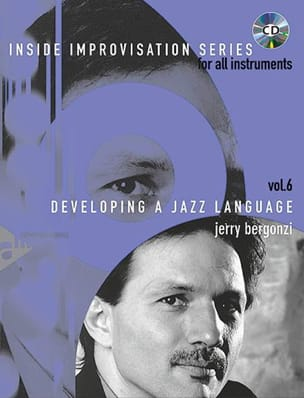 Jerry Bergonzi - Volume 6 - Developing A Jazz Language - Partition - di-arezzo.fr