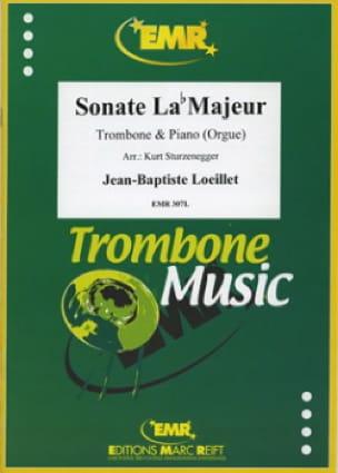 Sonate Lab Majeur LOEILLET Partition Trombone - laflutedepan