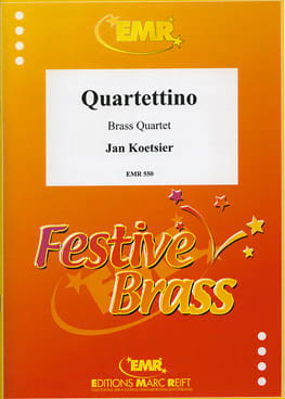 Jan Koetsier - Quartettino Opus 33 N° 2 - Partition - di-arezzo.fr