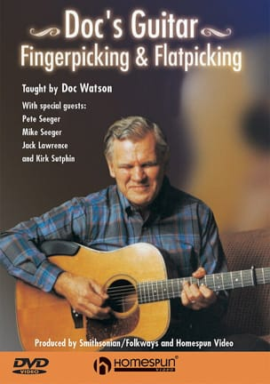 Doc Watson - DVD - Fingerpicking - Flatpicking - Sheet Music - di-arezzo.co.uk