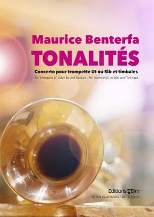 Maurice Benterfa - Tonalités (Concerto) - Partition - di-arezzo.fr