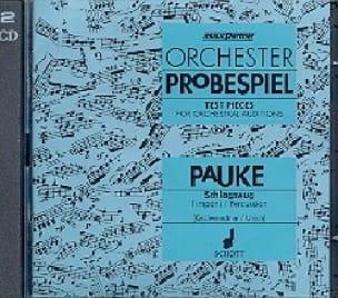 - CD - Orchester Probespiel - Timpani - Sheet Music - di-arezzo.com
