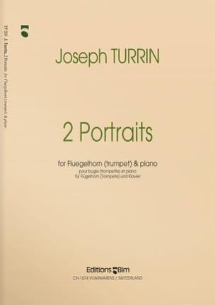 2 Portraits Joseph Turrin Partition Trompette - laflutedepan