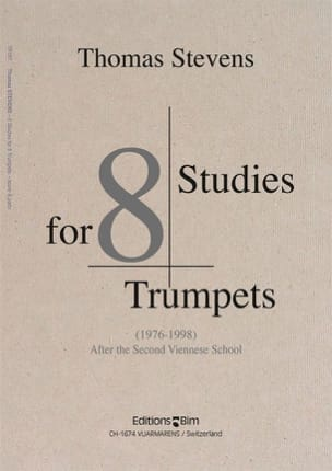 Thomas Stevens - Studies For 8 Trumpets - Partition - di-arezzo.fr