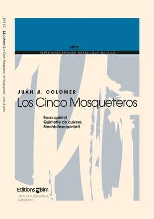 Juan J. Colomer - Los Cinco Mosqueteros - Partition - di-arezzo.fr