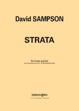 David Sampson - Strata - Partition - di-arezzo.fr