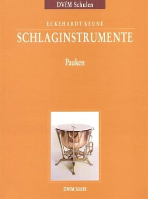 Eckehardt Keune - Percussion Instruments Part 2 - Sheet Music - di-arezzo.com