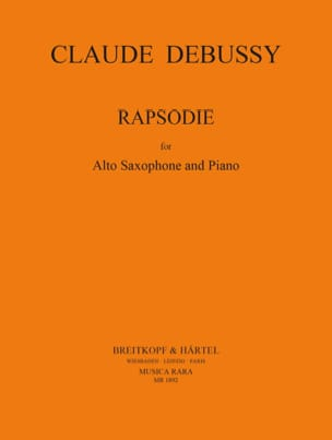Claude Debussy - Rapsodie - Partition - di-arezzo.fr