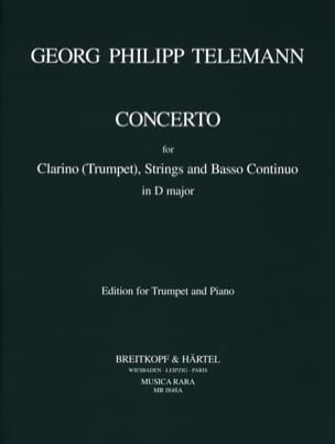 TELEMANN - Concierto en re mayor - Partitura - di-arezzo.es