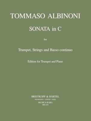 Tomaso Albinoni - Sonata In C - Partition - di-arezzo.fr