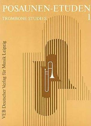 Posaunen-Etüden 2 - Partition - Trombone - laflutedepan.com
