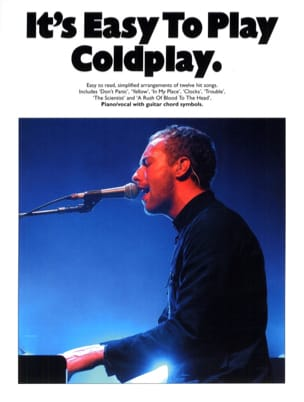 It's easy to play Coldplay Coldplay Partition laflutedepan