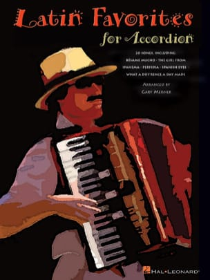 Latin Favorites For Accordion Partition Accordéon - laflutedepan