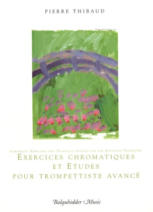 Pierre Thibaud - Chromatic Exercises And Studies For Advanced Trumpet Artist - Sheet Music - di-arezzo.com