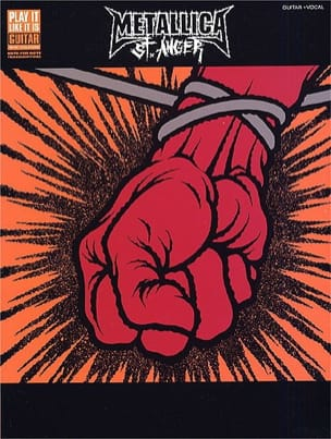 St. Anger - Metallica - Partition - laflutedepan.com