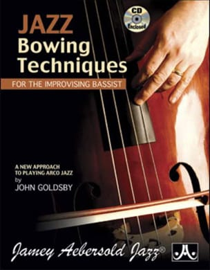 METHODE AEBERSOLD - Jazz Bowing Techniques - Sheet Music - di-arezzo.co.uk