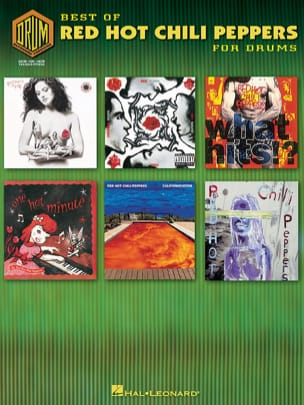 Red Hot Chili Peppers - Best Of For Drums - Sheet Music - di-arezzo.com