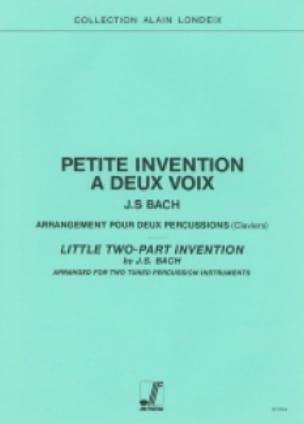 Johann Sebastian Bach - Petite Invention A Deux Voix - Partition - di-arezzo.fr