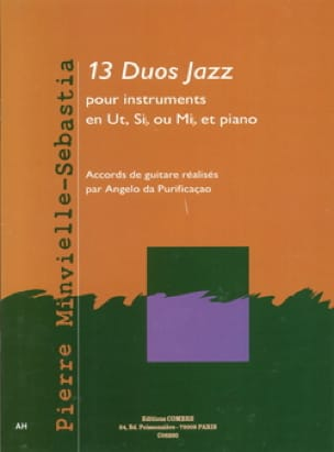 Pierre Minvielle-Sebastia - 13 Jazz Duos - Sheet Music - di-arezzo.com