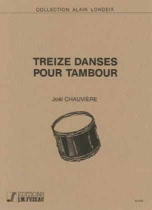 Joël Chauvière - 13 Drums for Drum - Sheet Music - di-arezzo.com