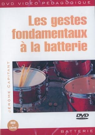 Jérôme Capitant - DVD - Fundamental Gestures At the Battery - Sheet Music - di-arezzo.co.uk