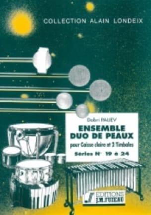 Ensemble Duo de Peaux Séries 19 A 24 - Dobri Paliev - laflutedepan.com