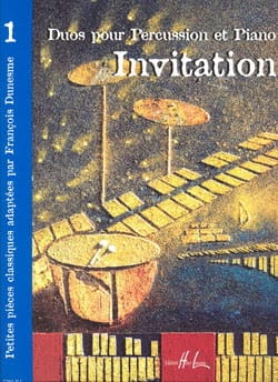 Invitation Volume 1 - Partition - laflutedepan.com
