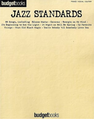Budget books - Standard Jazz - Sheet Music - di-arezzo.com