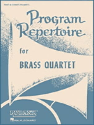 - Program Repertoire - Trombone 1 Partie 3 - Partition - di-arezzo.fr