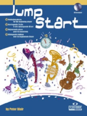 Jump Start - Peter Blair - Partition - Cor - laflutedepan.com