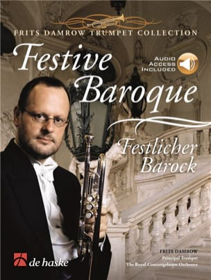Festive Baroque Partition Trompette - laflutedepan