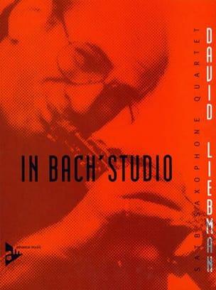 David Liebman - In Bach's Studio - Partition - di-arezzo.fr