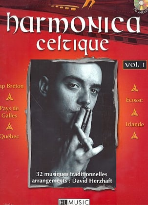 David Herzhaft - Harmonica Celtique Volume 1 - Partition - di-arezzo.fr
