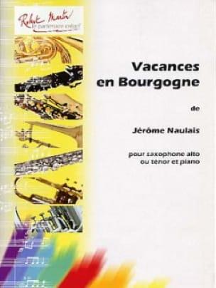 Jérôme Naulais - Vacances en Bourgogne - Partition - di-arezzo.fr