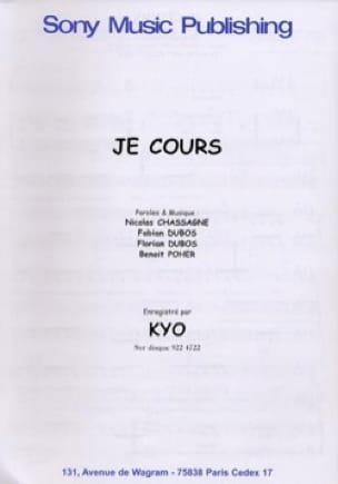 Kyo - I run - Sheet Music - di-arezzo.co.uk