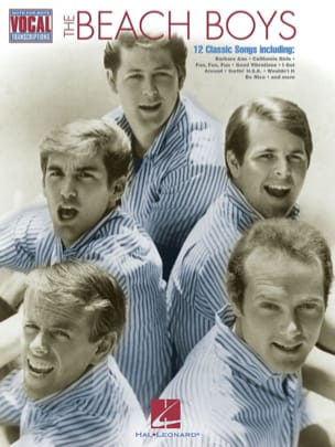 The Beach Boys - Note For Note Vocal Transcriptions - Partition - di-arezzo.fr