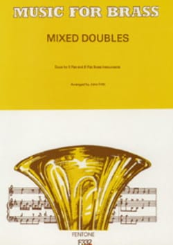 Mixed Doubles Partition Ensemble de cuivres - laflutedepan