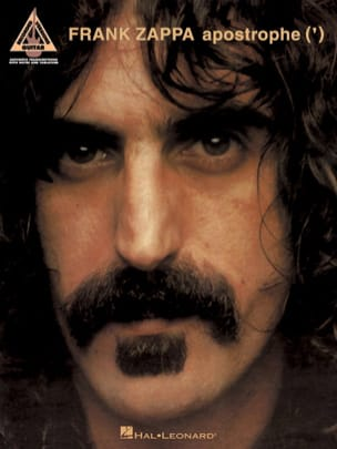 Apostrophe ' Frank Zappa Partition Pop / Rock - laflutedepan