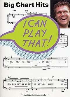 I Can Play That Big Chart Hits Partition Pop / Rock - laflutedepan
