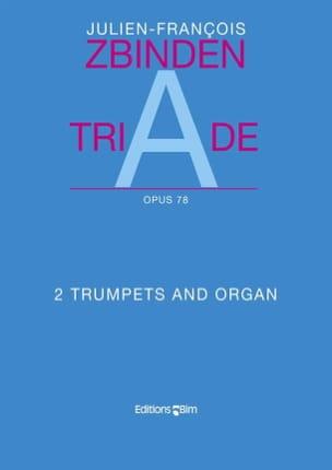 Triade Opus 78 - Julien-François Zbinden - laflutedepan.com