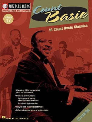 Jazz play-along volume 17 - Count Basie - laflutedepan.com