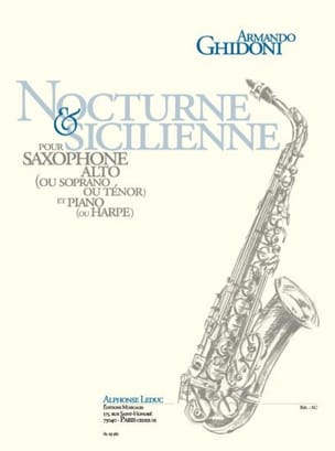 Armando Ghidoni - Nocturne - Sicilian - Sheet Music - di-arezzo.co.uk