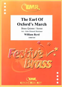 William Byrd - The Earl Of Oxford's March - Partition - di-arezzo.fr