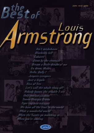 Louis Armstrong - The Best Of Louis Armstrong - Partition - di-arezzo.fr