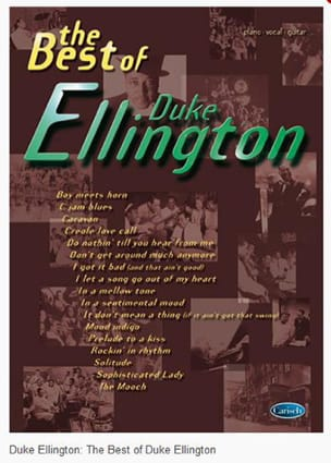 Duke Ellington - The best of Duke Ellington - Sheet Music - di-arezzo.co.uk