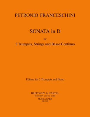 P. Franceschini - Sonate in D - Noten - di-arezzo.de