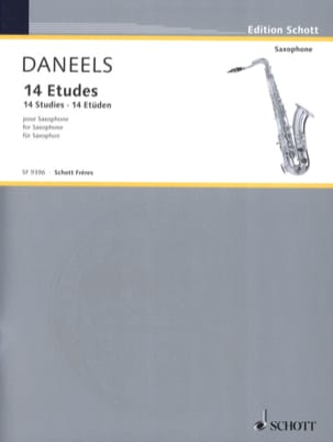 François Daneels - 14 Studies For Saxophone - Sheet Music - di-arezzo.co.uk