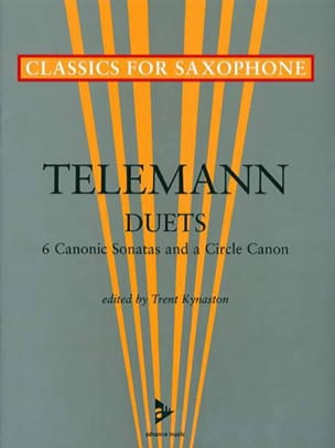 Georg Ph Telemann - Duets - 6 Canonic sonatas and a circle canon - Partition - di-arezzo.fr