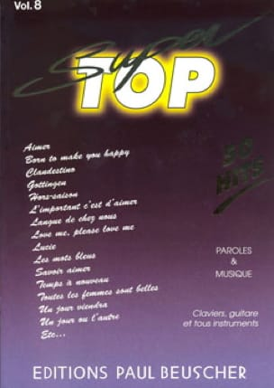 - Super Top Volume 8 - 50 Hits - Sheet Music - di-arezzo.com