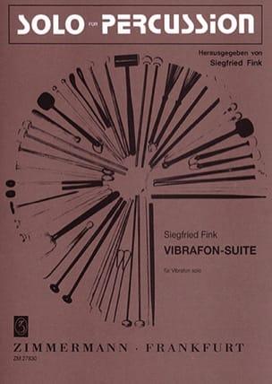 Siegfried Fink - Vibrafon Suite - Partition - di-arezzo.fr